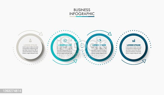 istock Business data visualization. timeline infographic icons designed for abstract background template 1263274814