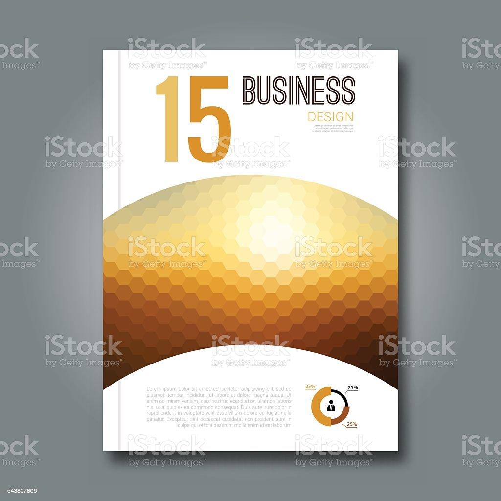 Geschäft Designvorlage Abdeckung Broschüre Buchen Mockuplayout Flyer ...