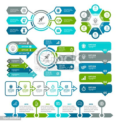 istock Business diagrams and Infographic Elements 1041930694