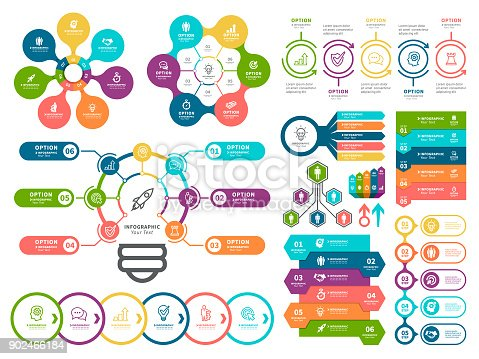 istock Business diagrams and Infographic Elements. 902466184
