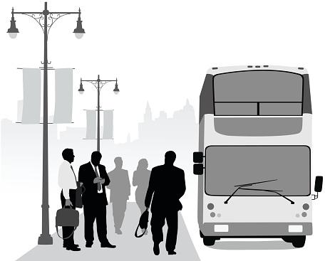 Business District Urban Transit