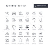 29 Business Ethics Icons - Editable Stroke - Easy to edit and customize - You can easily customize the stroke with