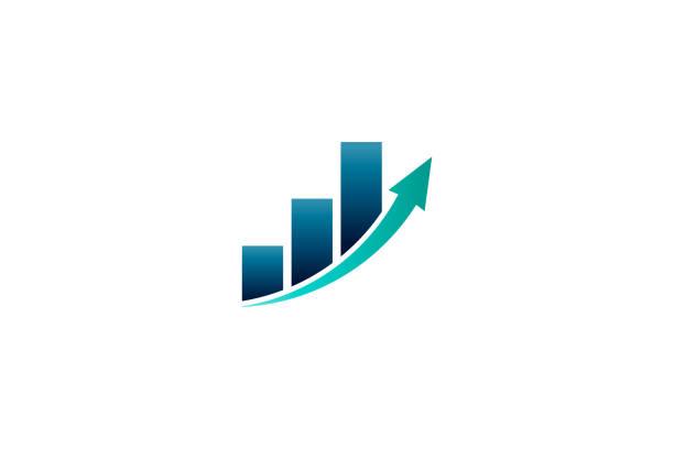 business finance bar gewinn vektor-illustration - heben stock-grafiken, -clipart, -cartoons und -symbole