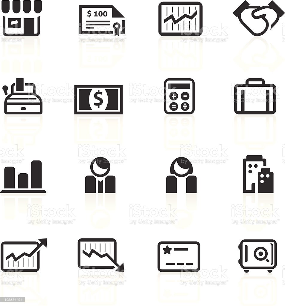 Business & Finance Icons 2 - minimo series royalty-free business finance icons 2 minimo series stock vector art & more images of arrow symbol