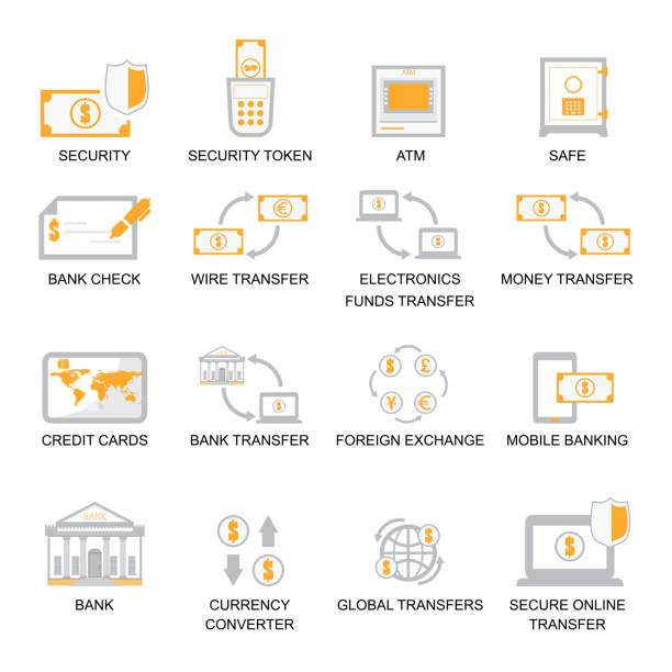 Royalty Free Wire Transfer Clip Art, Vector Images & Illustrations ...
