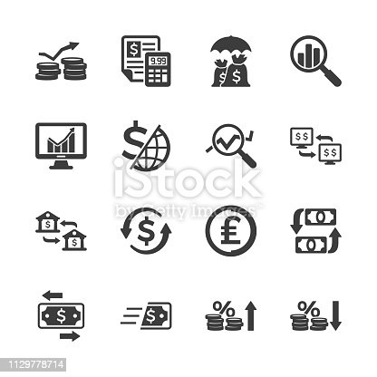 Business & Finance Icons - Set 4