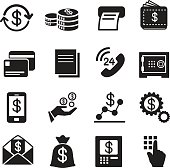 Business , finance, Investment icons Set