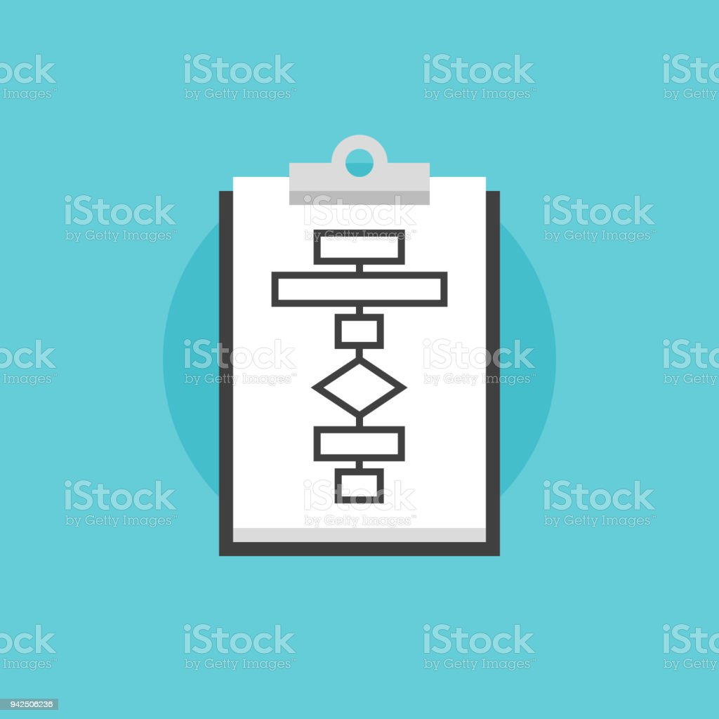 Business flowchart process flat icon illustration stock vector art business flowchart process flat icon illustration royalty free business flowchart process flat icon illustration stock ccuart Choice Image