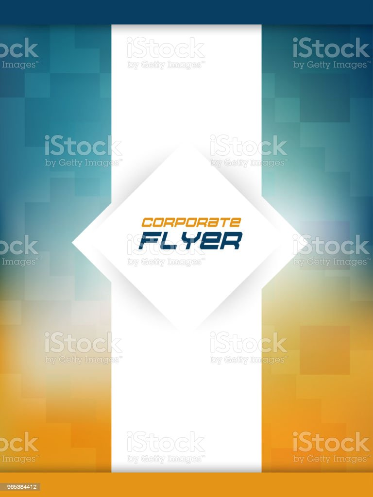 Business Flyer or Brochures business flyer or brochures - stockowe grafiki wektorowe i więcej obrazów abstrakcja royalty-free