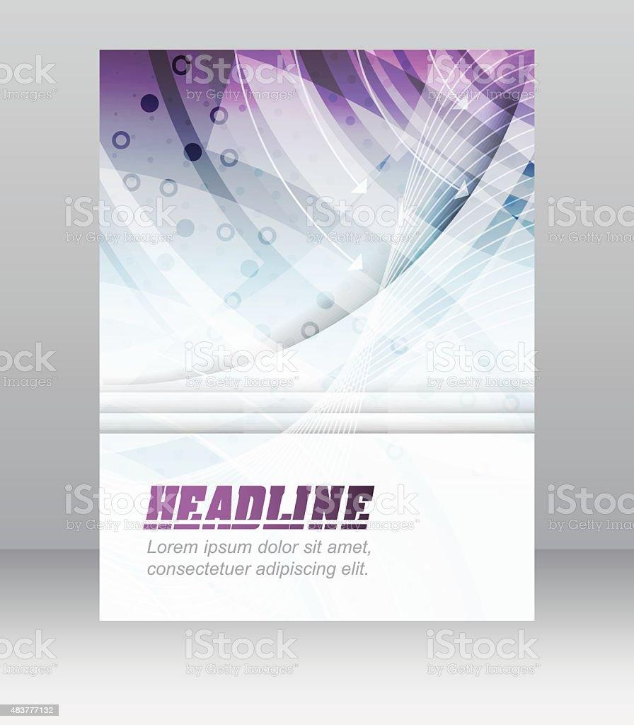 Affaires Flyer Modèle De Brochure Ou De Couverture Design Le