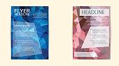 istock Business flyer template or corporate banner, brochure/design in 491101750
