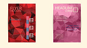 istock Business flyer template or corporate banner, brochure/design in 491103640
