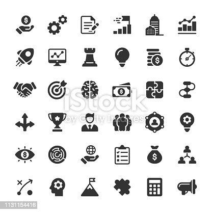 36 Glyph Icons.
