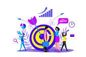 istock Business goals concept 1201846994
