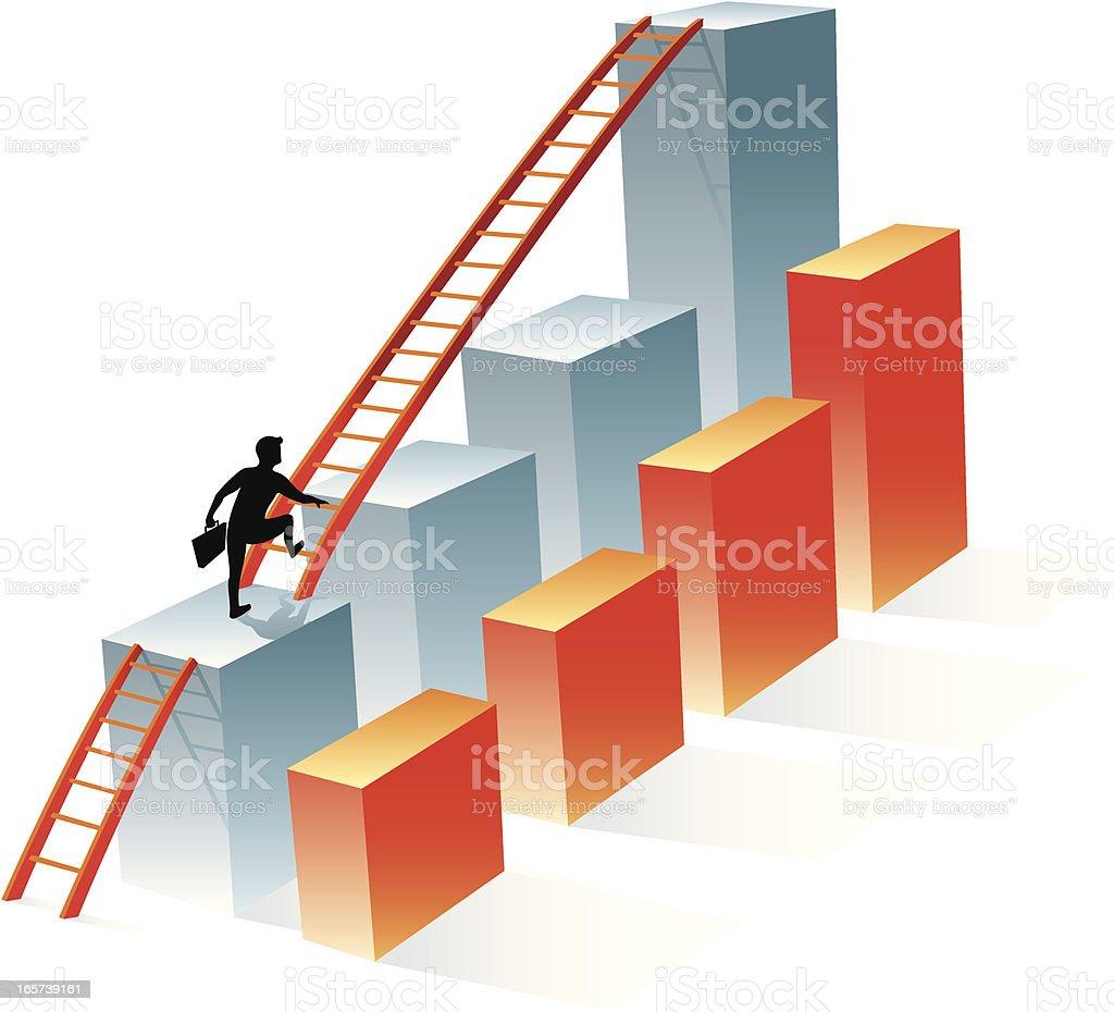 Business Goals royalty-free stock vector art