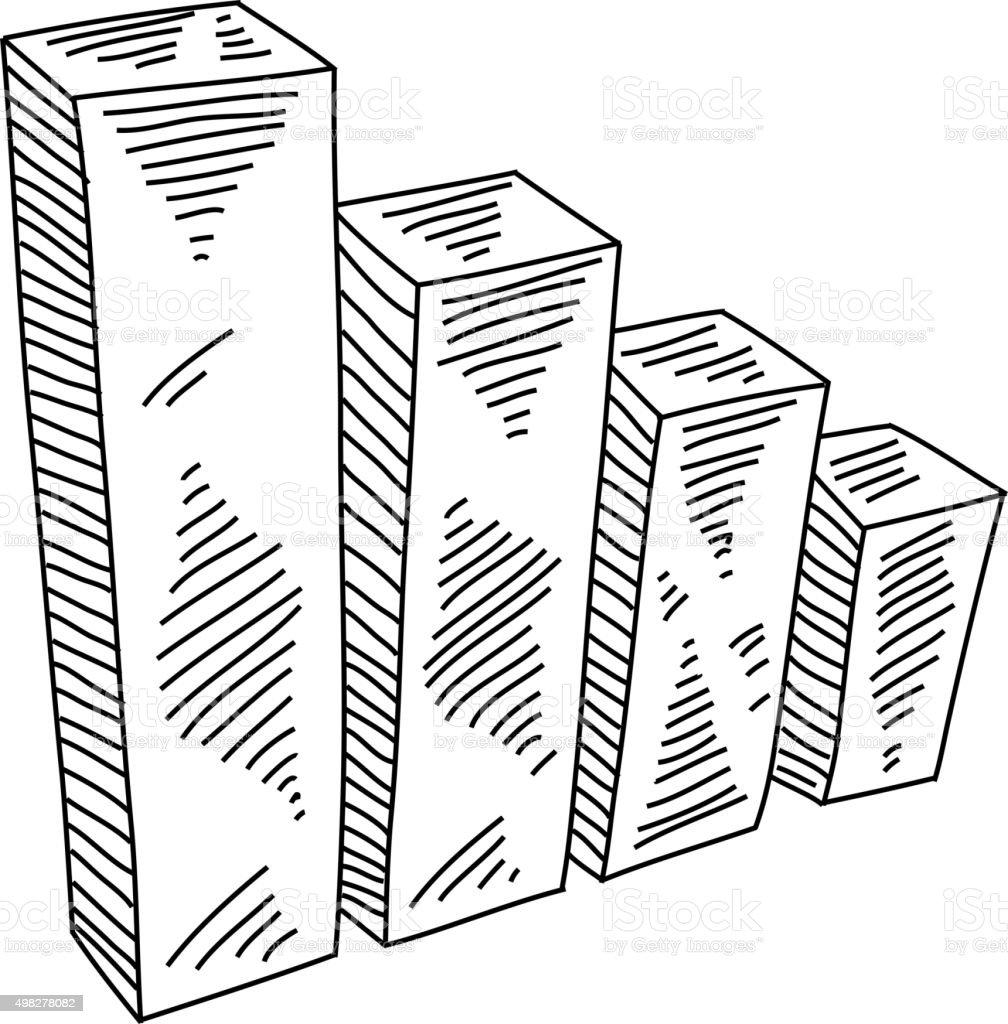 Businessdiagramm Zeichnen Stock Vektor Art und mehr Bilder von 2015 ...