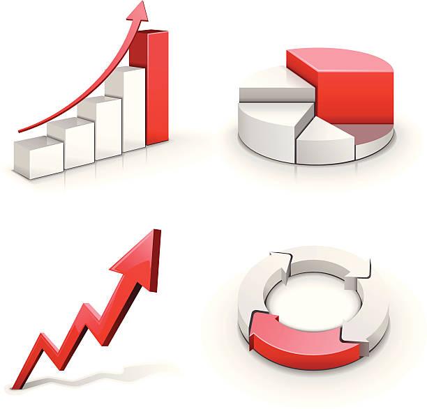 Business-Diagramm – Vektorgrafik