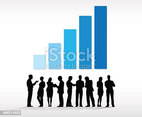 istock Business Graph 486314933
