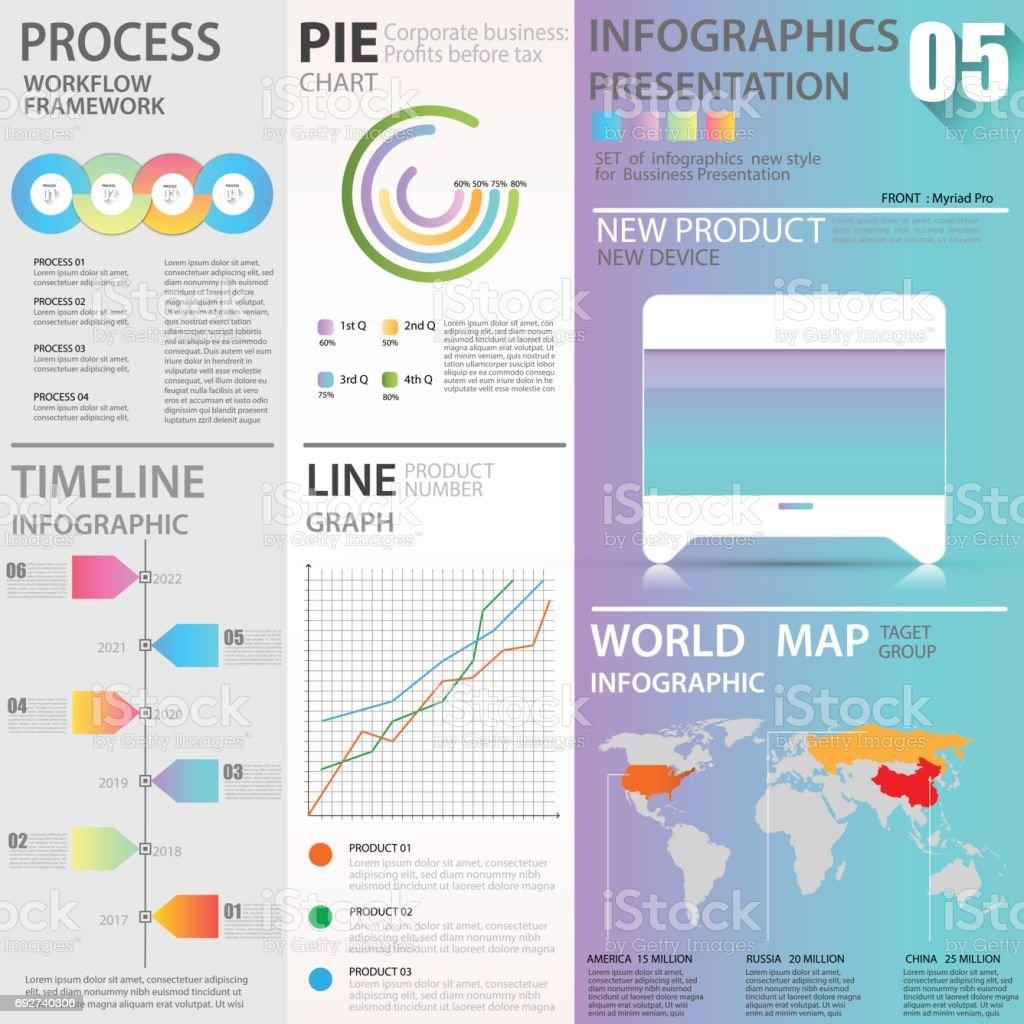 ビジネス グラフィックス データ...