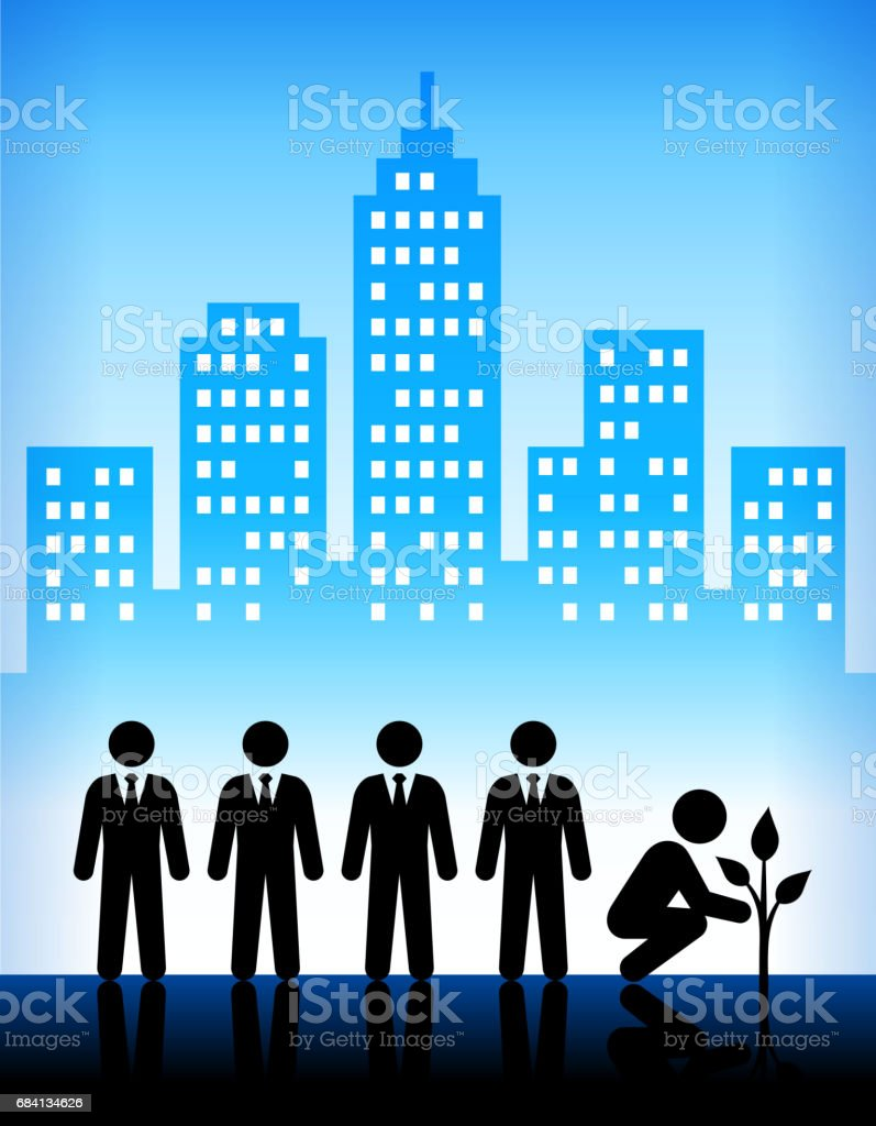Groei en ontwikkeling moderne stad achtergrond royalty free groei en ontwikkeling moderne stad achtergrond stockvectorkunst en meer beelden van achtergrond - gefabriceerd object