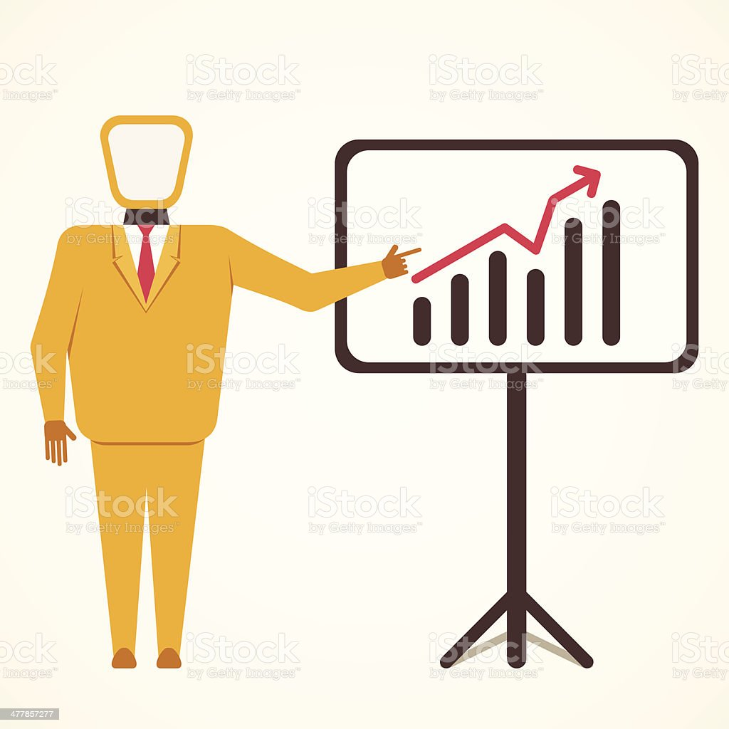 business growth royalty-free stock vector art