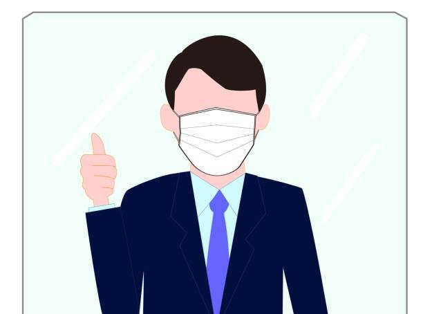 business guard – artystyczna grafika wektorowa