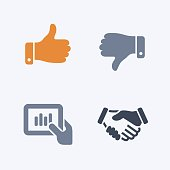 Business Hands - Carbon Icons