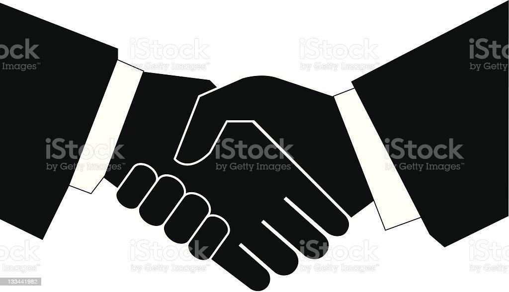 business handshake - vector royalty-free business handshake vector stock vector art & more images of adult