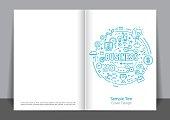 Business Icon Cover design