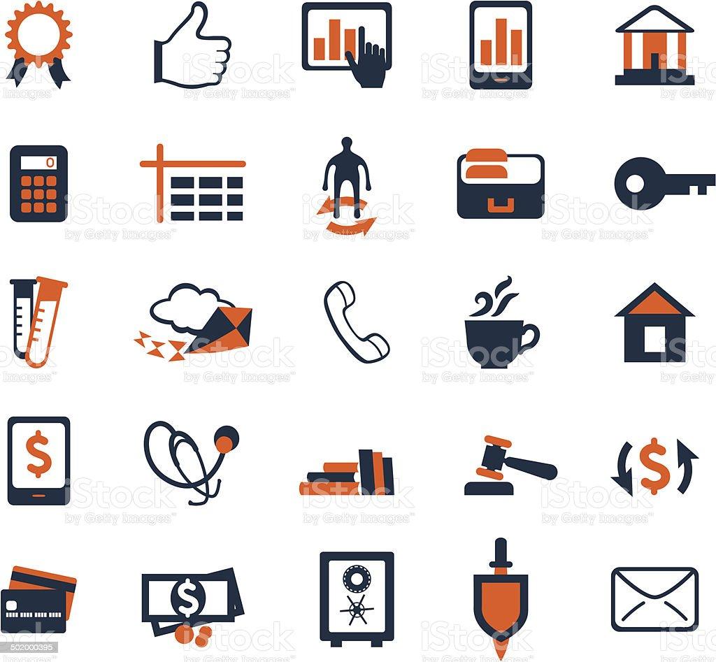 Business Icon Set Finanzen Marketing Und Ecommerce Zu Nutzen ...