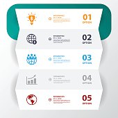 istock Business icon with white paper.Vector Illustrations. 537700145