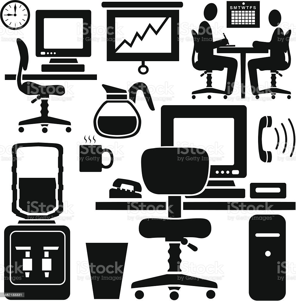 business icons and design elements royalty-free business icons and design elements stock vector art & more images of adult