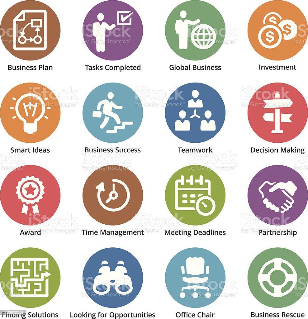 Iconos de negocios conjunto 3-Serie Dot ilustración de iconos de negocios conjunto 3serie dot y más banco de imágenes de asociación libre de derechos