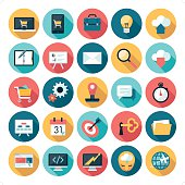 A set of 25 business related icon set. Icons are grouped individually.