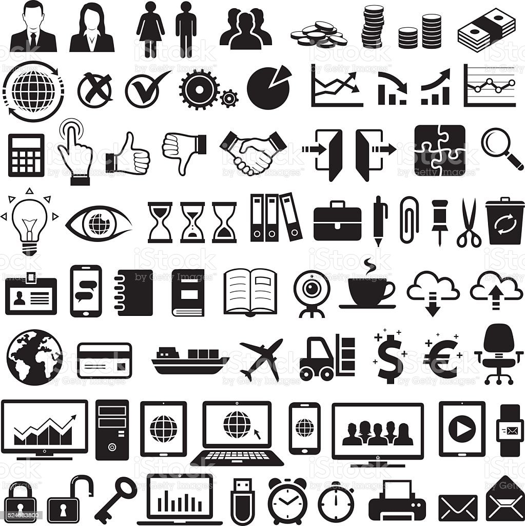 business icons stock vector more images of 524533800 istock business icons stock vector more images of 524533800 istock