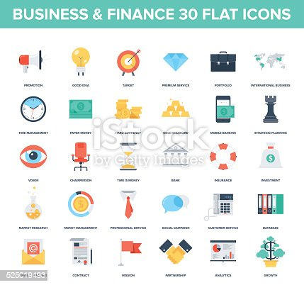 1079974636 istock photo Business Icons. 525019493