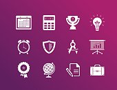 Icons for marketing and business