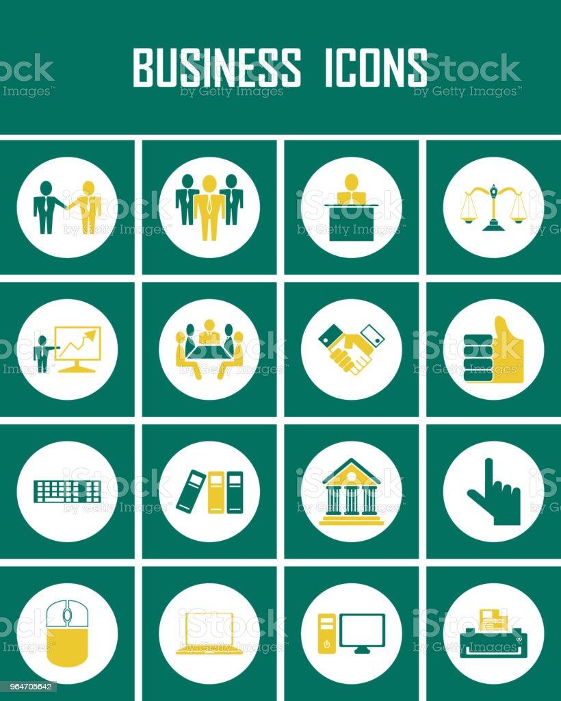 business icons vector royalty-free business icons vector stock vector art & more images of business