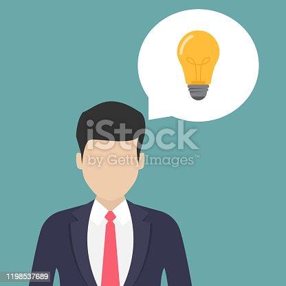 845301446 istock photo Business idea flat design vector illustration 1198537689