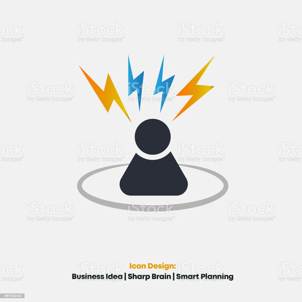 business idea generator business person stock vector art & more
