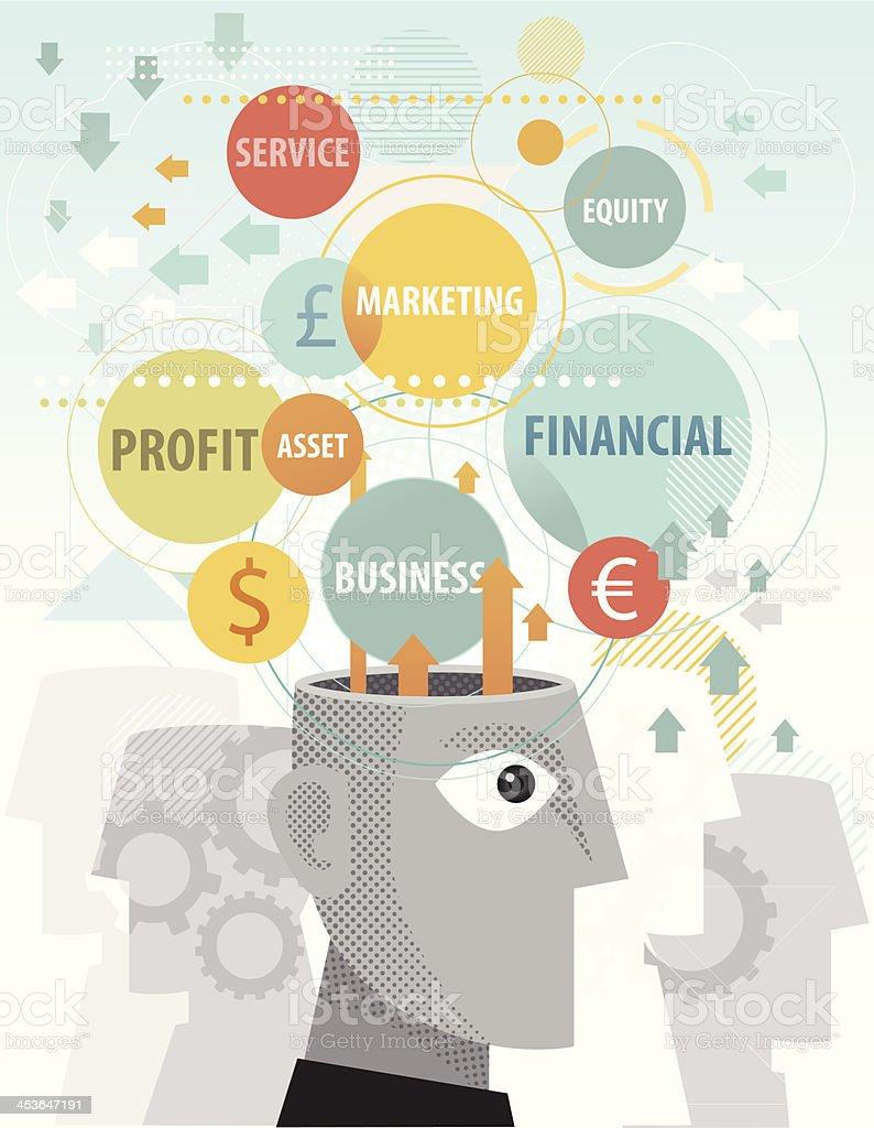 Business Idea royalty-free stock vector art