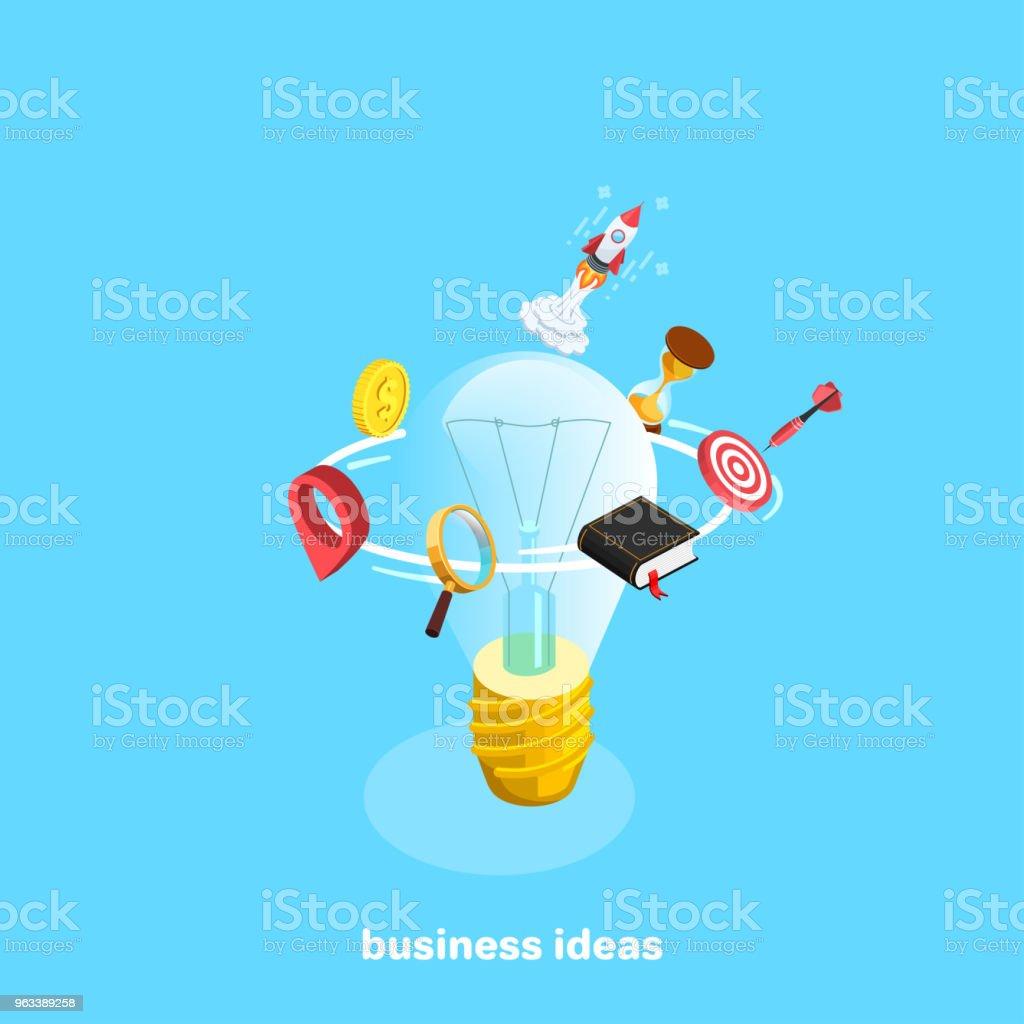 pomysły biznesowe - Grafika wektorowa royalty-free (Zegar)