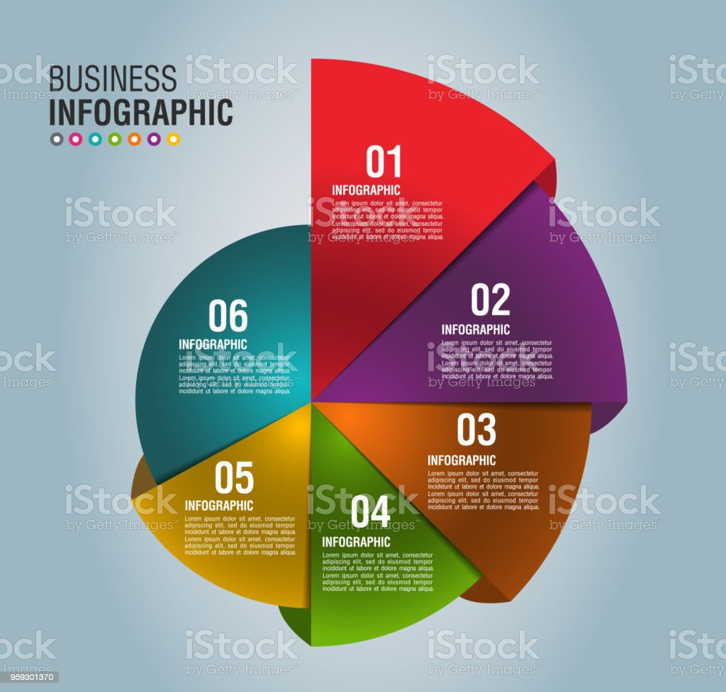 Business Infographic 3 vector art illustration