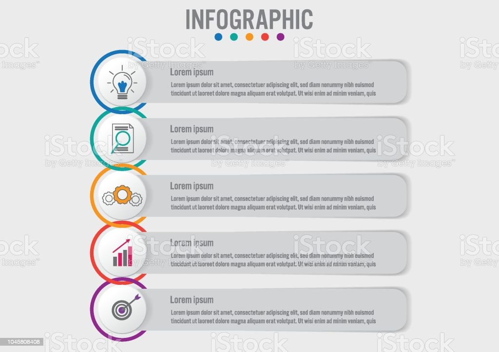 Business infographic labels template with 5 optionscreative concept business infographic labels template with 5 optionseative concept for infographic royalty free accmission Gallery