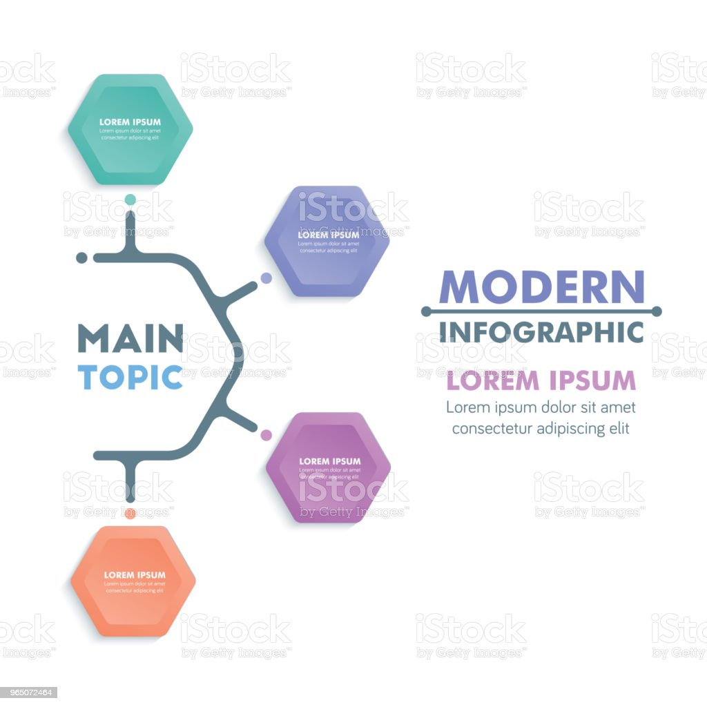 Business Infographic Template.Modern Hexagonal Infographics Timeline Design.Colorful Vector Illustration royalty-free business infographic templatemodern hexagonal infographics timeline designcolorful vector illustration stock illustration - download image now