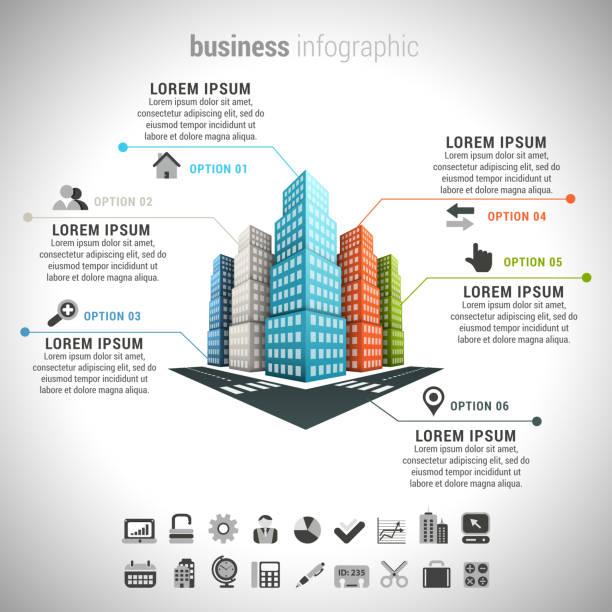 Business Infographic – Vektorgrafik