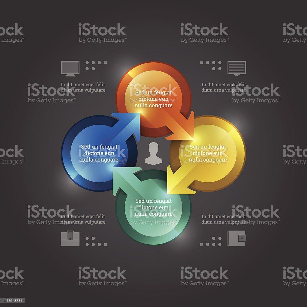 Infografía Diseño Plantilla De Negocios Vector Elementos ...