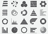 Business Infographics Graph Icons