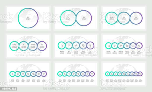 Business infographics presentations with 1 3 5 7 9 circles options vector id868195392?b=1&k=6&m=868195392&s=612x612&h= ovkm niko0ja8fk2tcgxn0t6cszaff 0bla7rrvg4o=