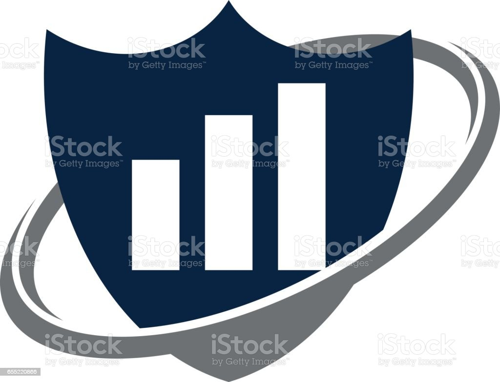 business investment shield stock vector art more images of banking rh istockphoto com